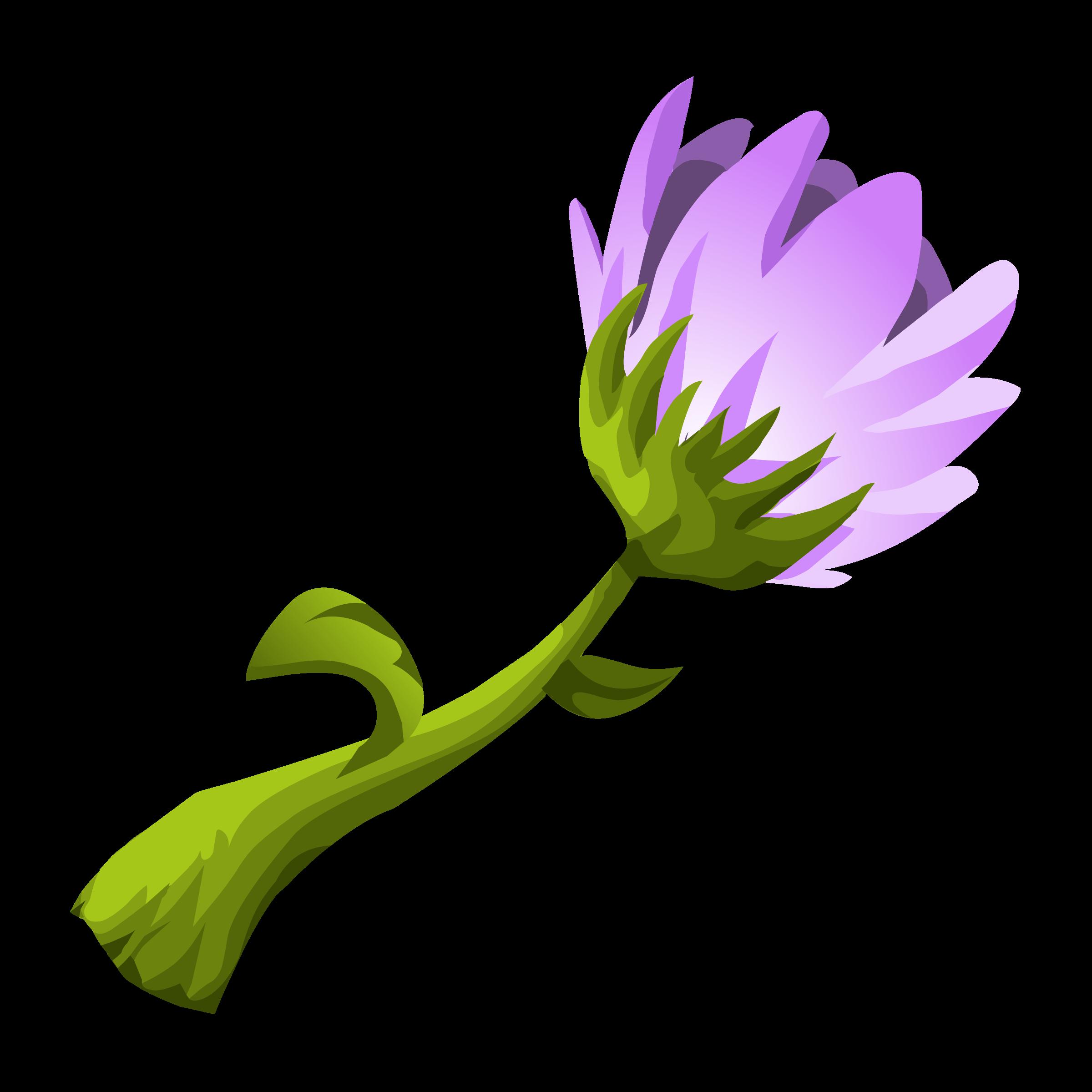 Glitch clipart flowery #2