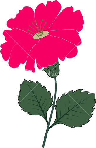 Glitch clipart flowery #4