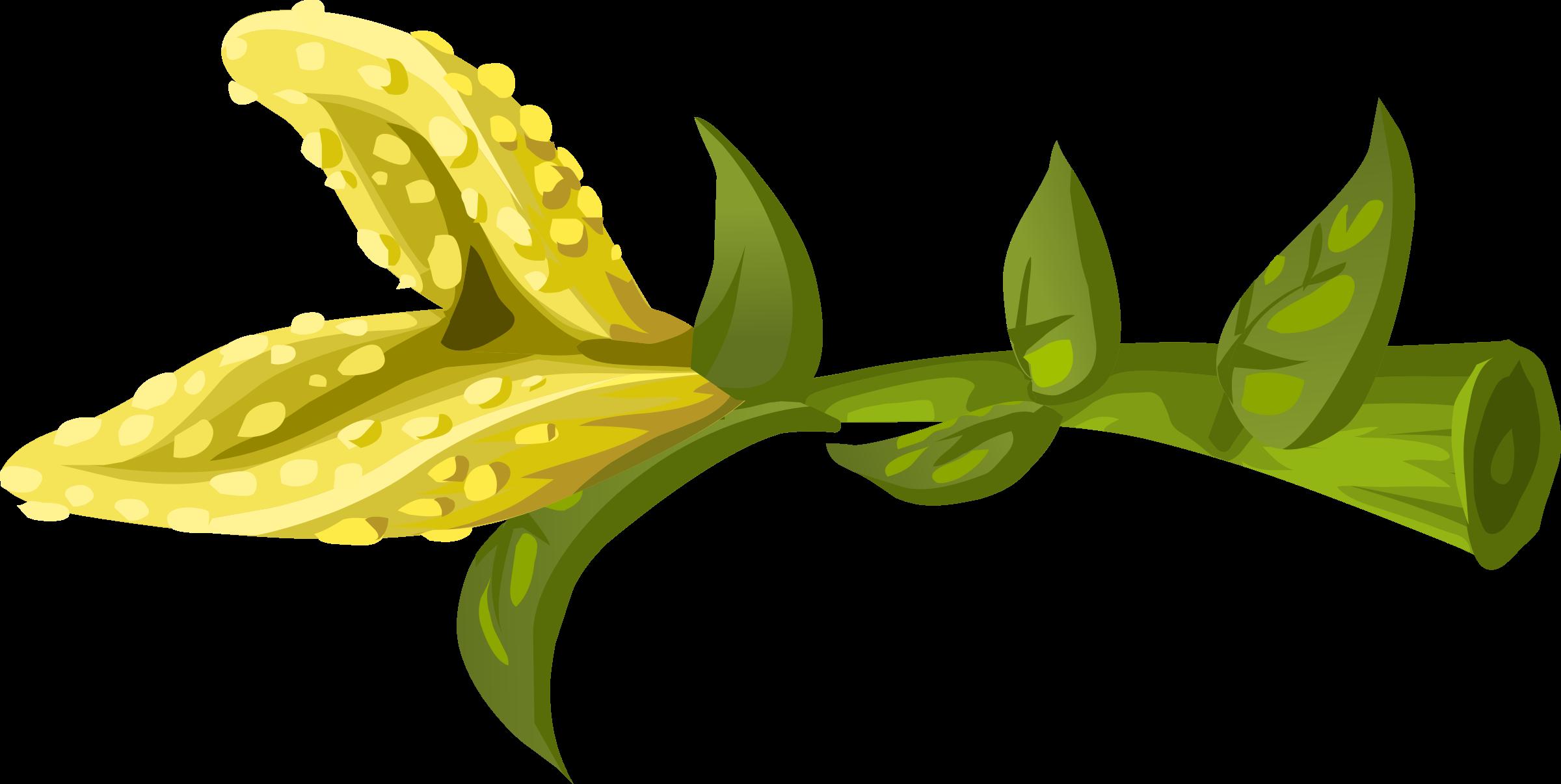 Glitch clipart flowery #3