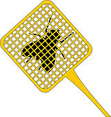 Bugs clipart fly swatter Fly GoGraph Royalty Swatter Fly