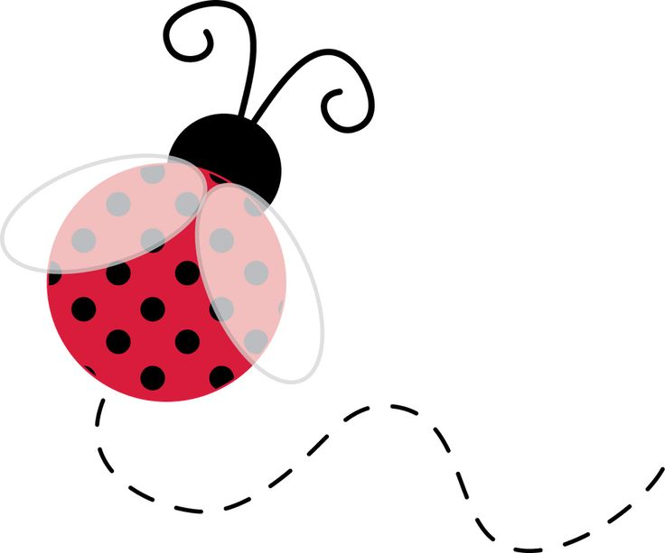Bugs clipart flying lady Bug Cliparts Printables Zone Freezing