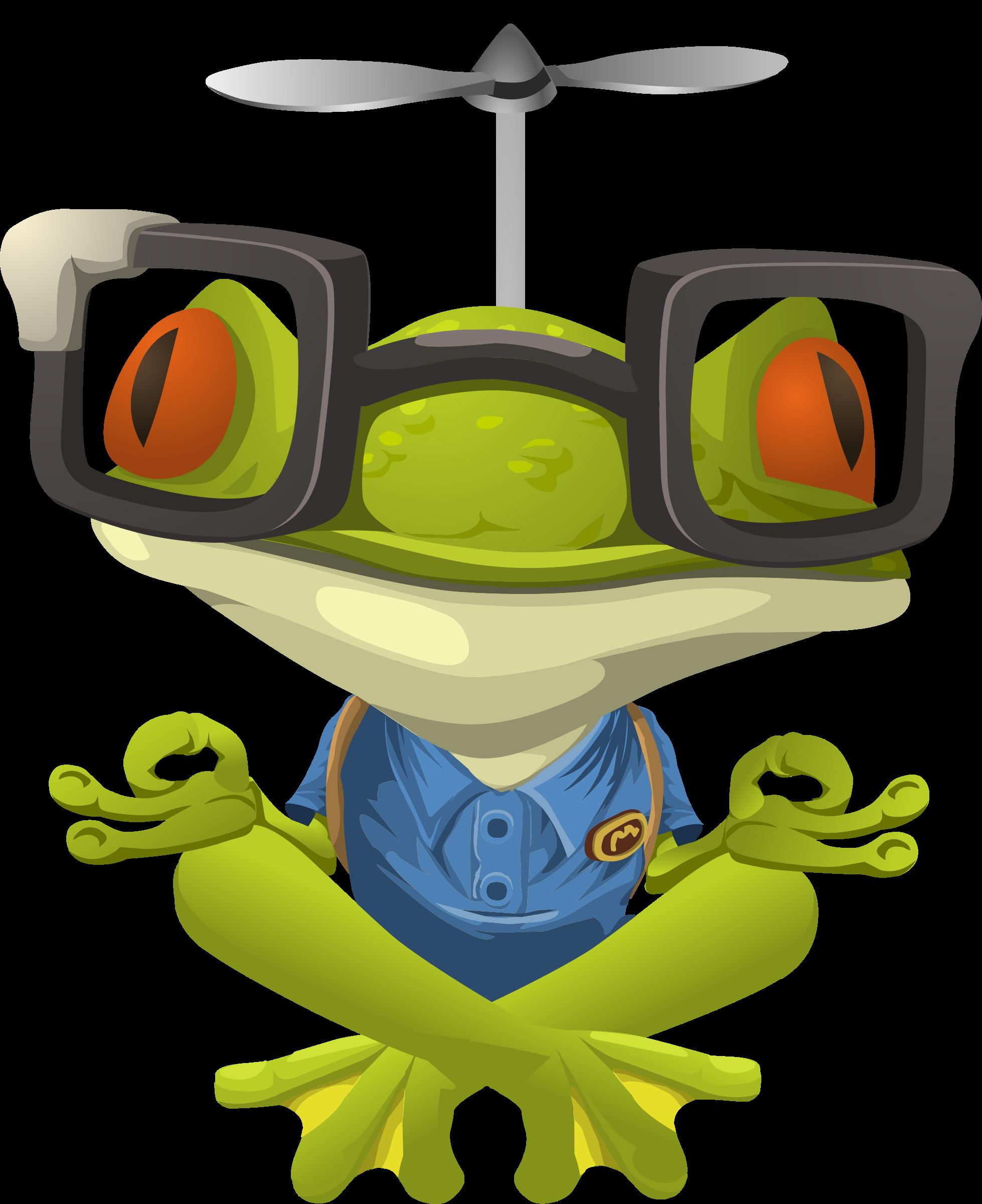Glitch clipart frog Frog Myopic Frog Clipart Npc