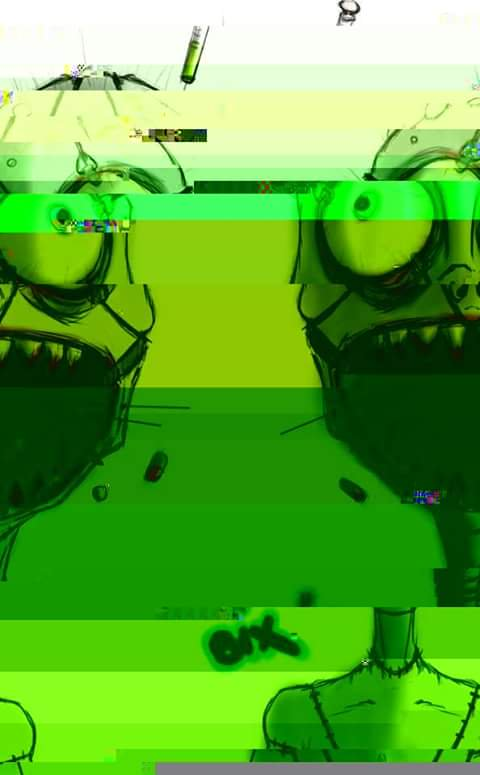 Glitch clipart green bug On  on