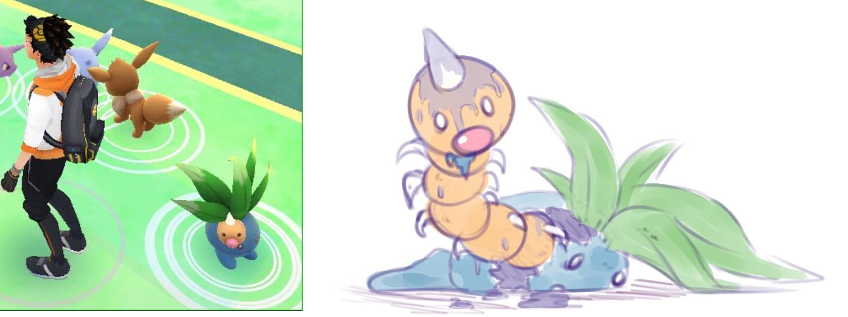 Glitch clipart gress  Art This Pokemon May