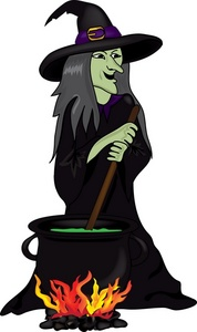 Witchcraft clipart cauldron Happy Misadventure! a a Witch