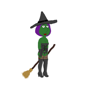 Glitch clipart halloween Addicts witch Glitch!!! Guy Family
