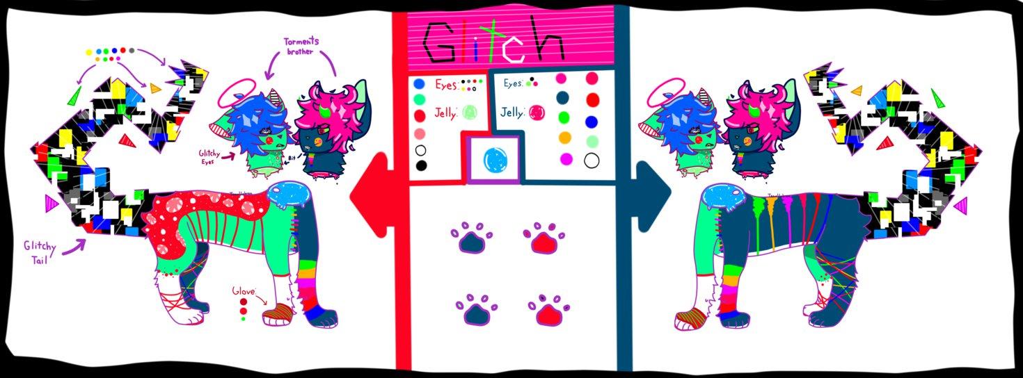 Glitch clipart halloween TeamUmbreon Glitch  Halloween Adopt