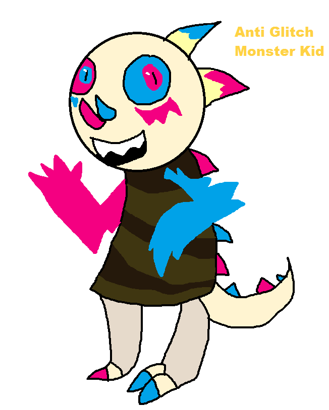 Glitch clipart kid Glitch Monster thehypercutter by Monster