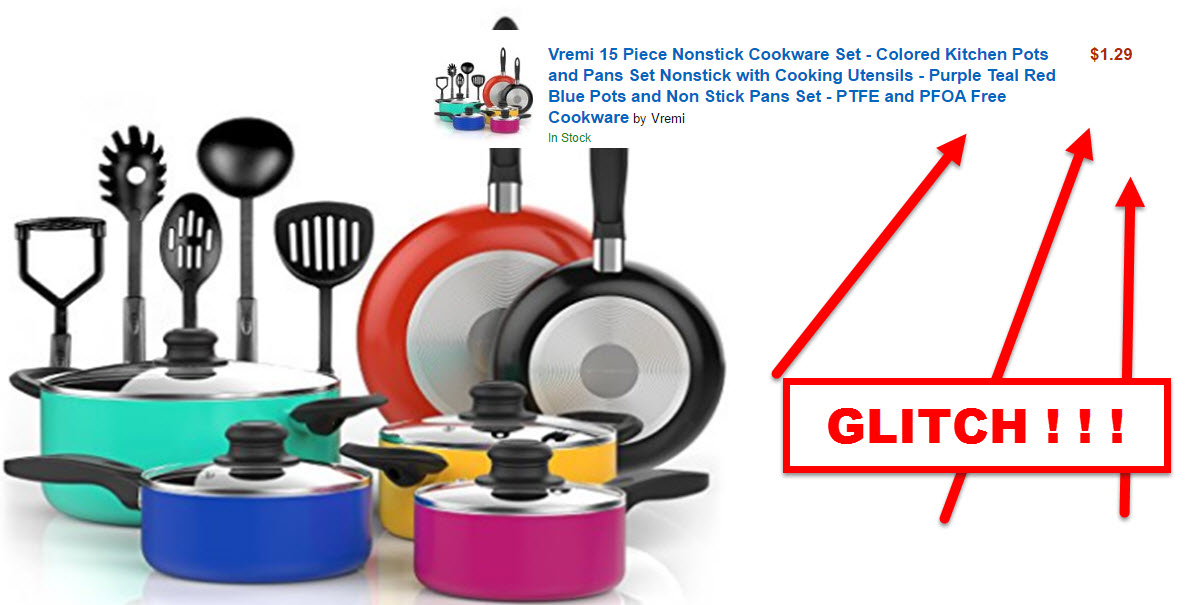 Glitch clipart kitchen ONLY – Amazon $1 15