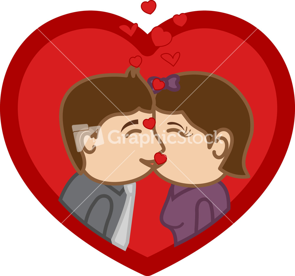 Glitch clipart laddy Cartoon Character Kissing & Chair