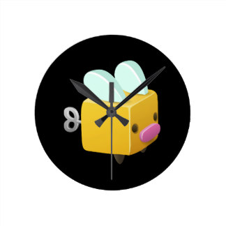 Glitch clipart background Firefly round firefly Glitch Clocks