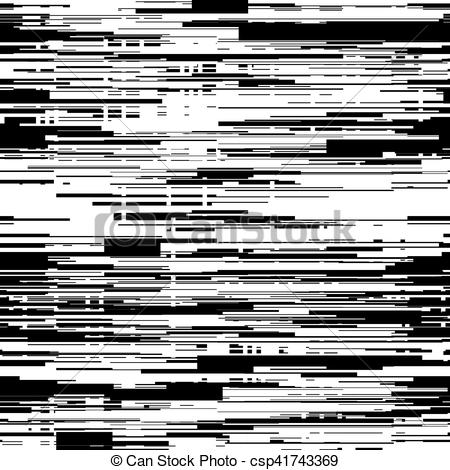 Glitch clipart little black Glitch texture black with Art