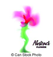 Glitch clipart little flower And Illustrations flower Abstract