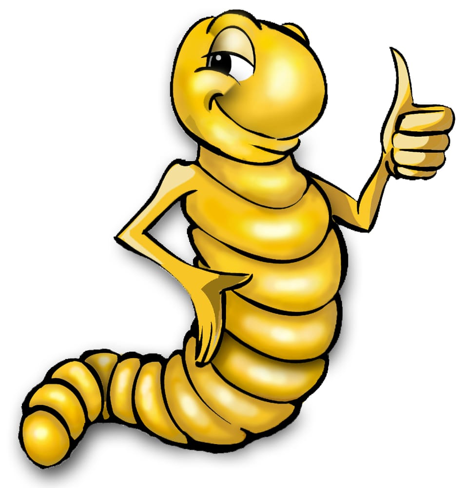Glitch clipart mealworm Yelp mascot Mealworms United mealworm