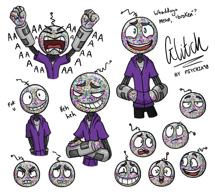 Glitch clipart mean #1