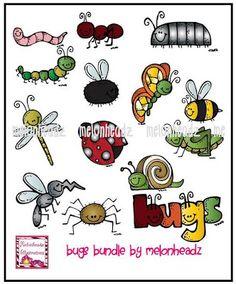 Bugs clipart melonheadz MelonHeadz: bundle MelonHeadz Pinterest :)