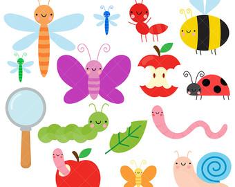 Glitch clipart minibeast Clipart Cute Bugs / Insect
