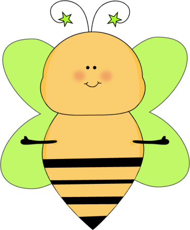 Bug clipart mycutegraphics Arms Clip Bee Open Bee