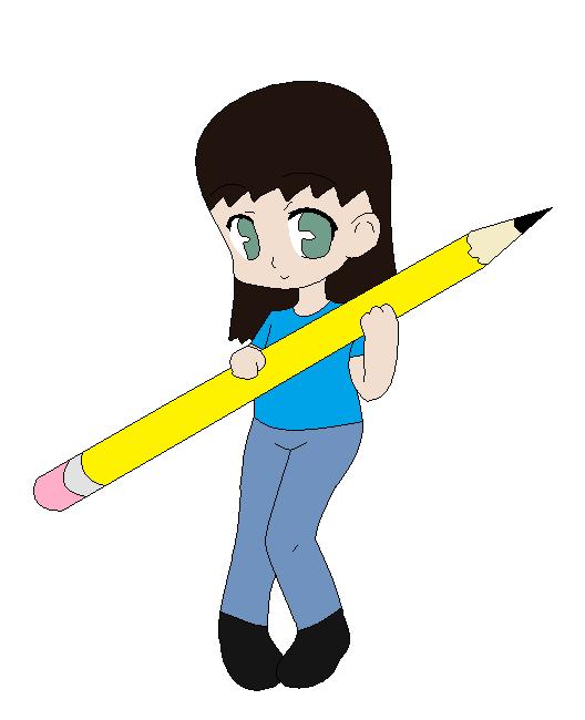 Glitch clipart pencil #2