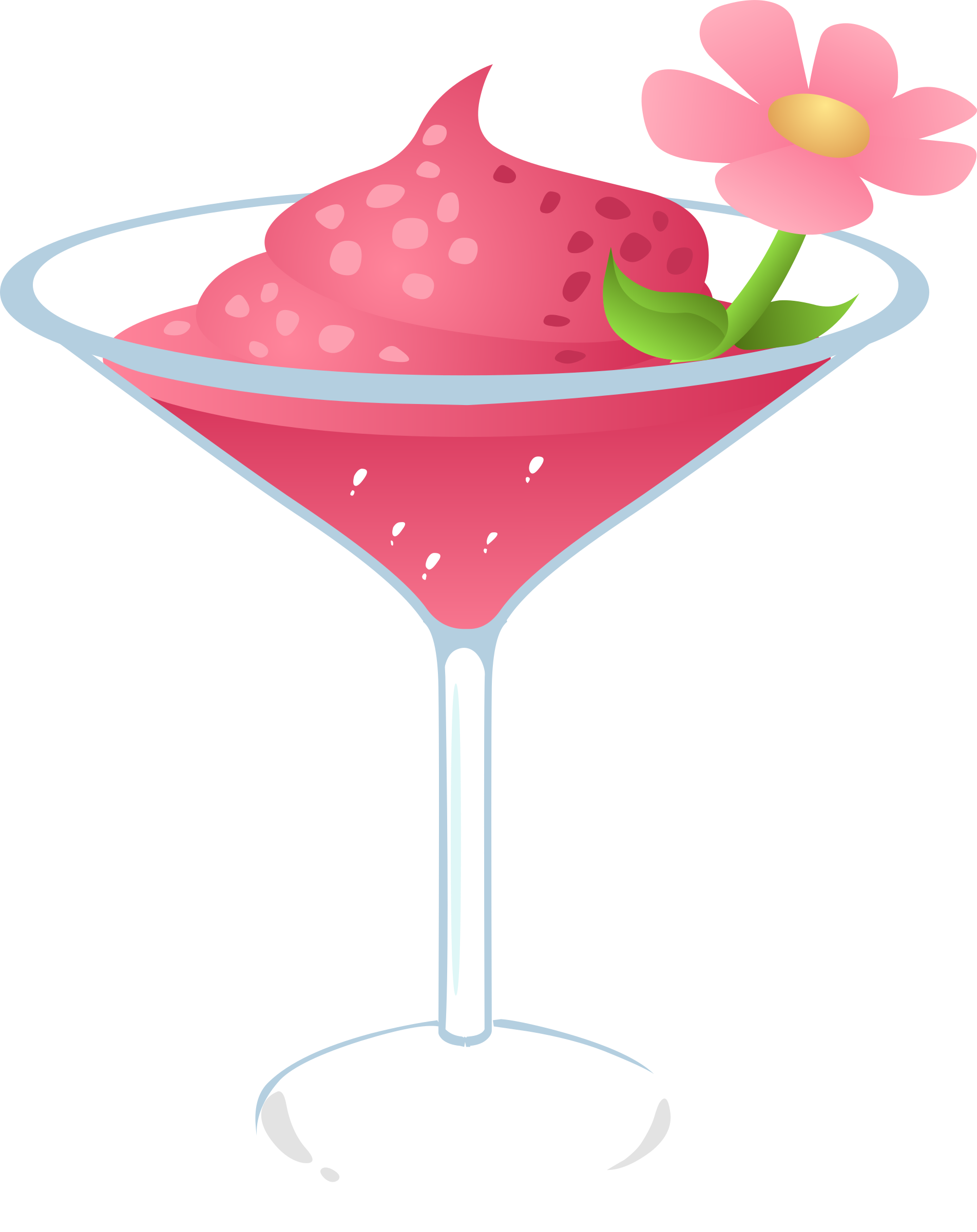 Glitch clipart pink lady IMAGE (PNG) Drink Gurly BIG