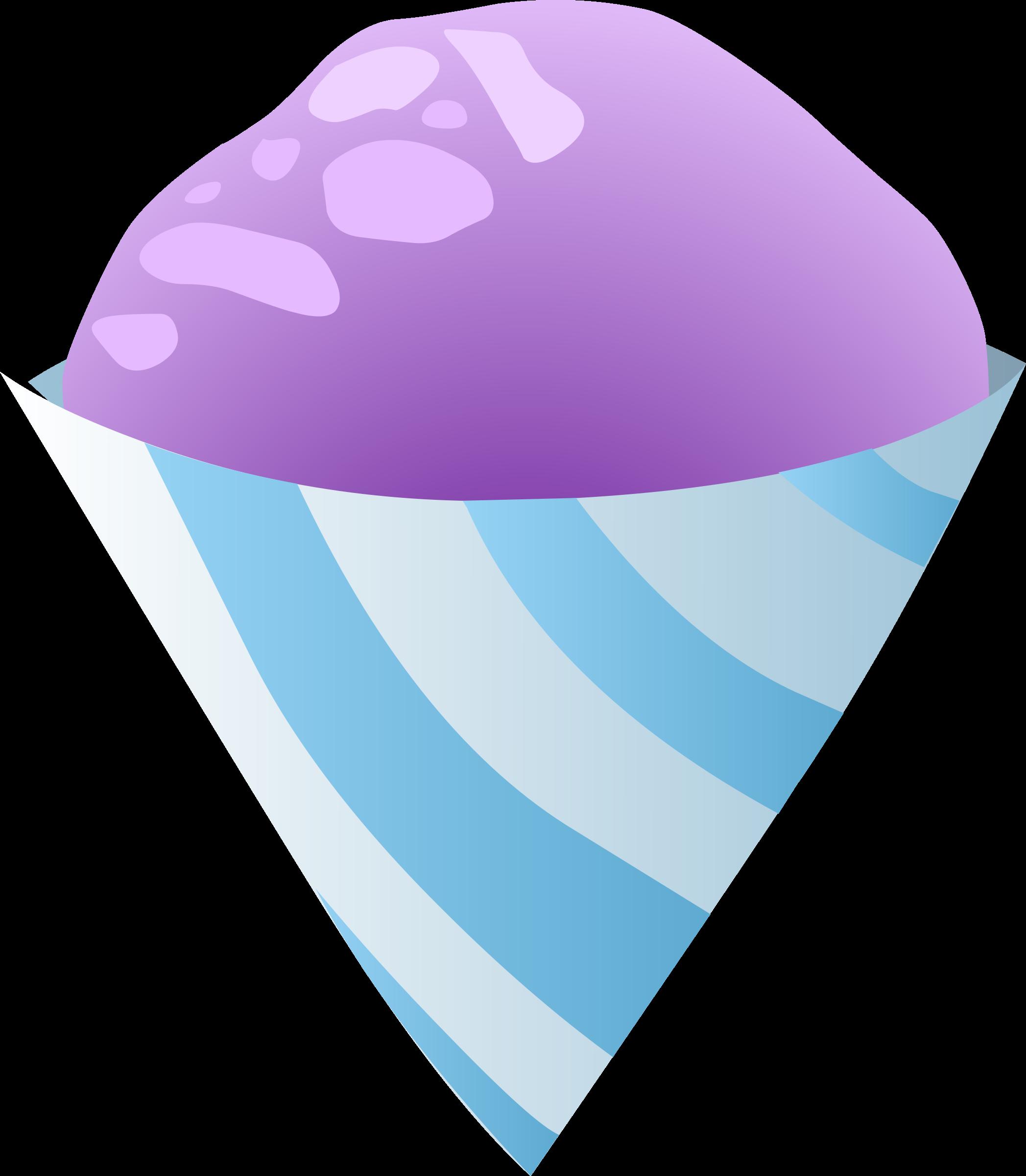 Glitch clipart purple Food Purple Purple Sno Cone