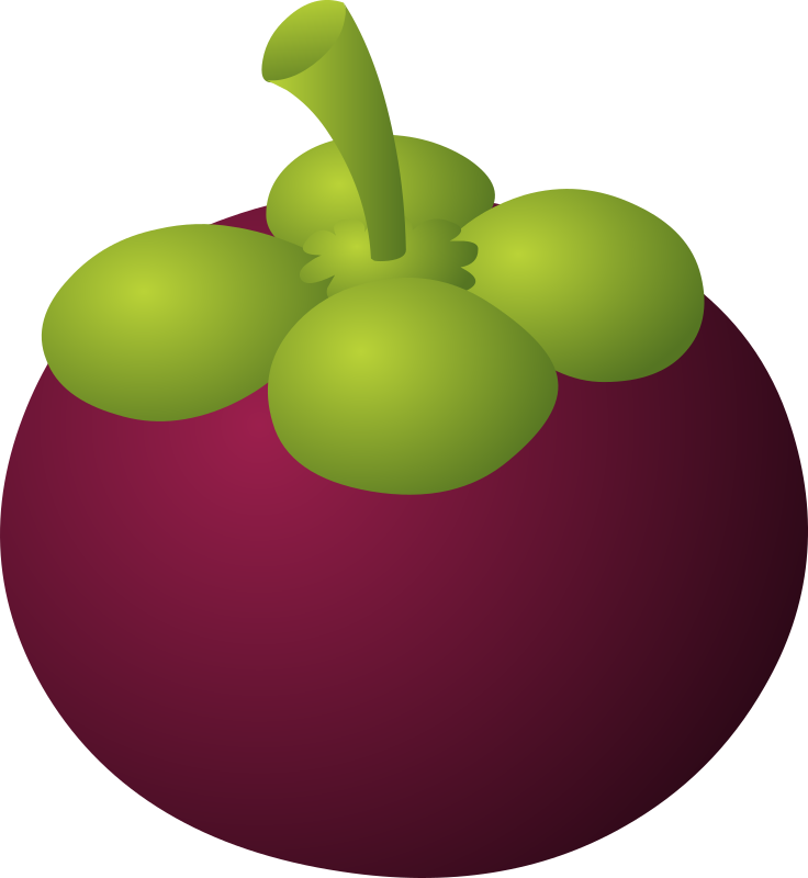 Glitch clipart purple MEDIUM Clipart IMAGE Food Mangosteen