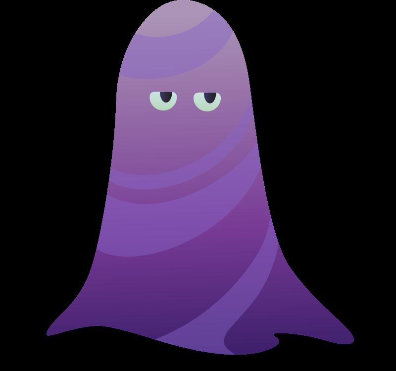 Glitch clipart purple PNG Creature Clipart Purple Ilmenskie