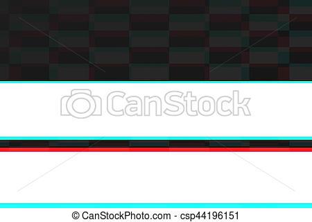 Glitch clipart realistic TV glitch signal  screen