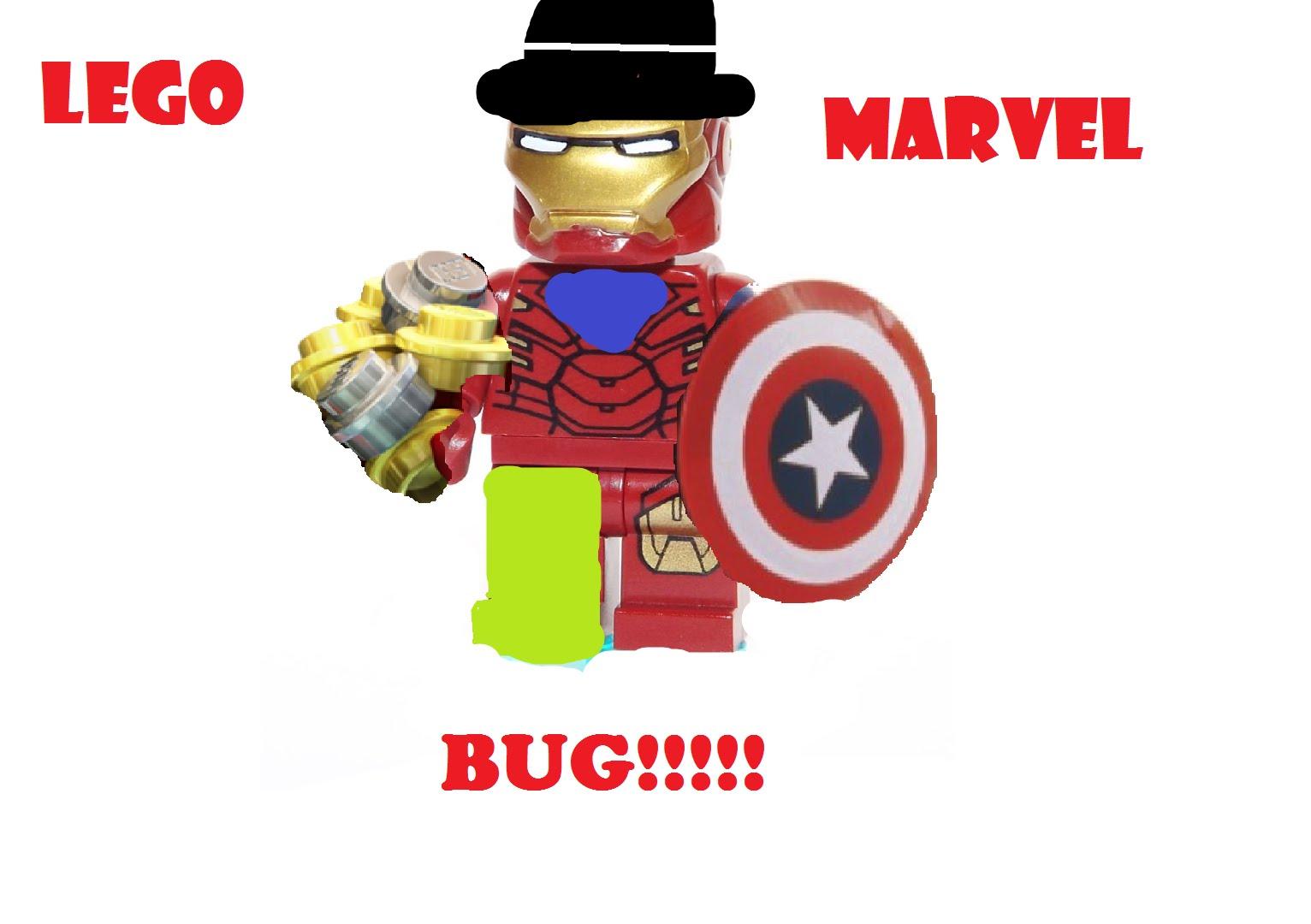 Glitch clipart red bug Custom LEGO Super Marvel YouTube