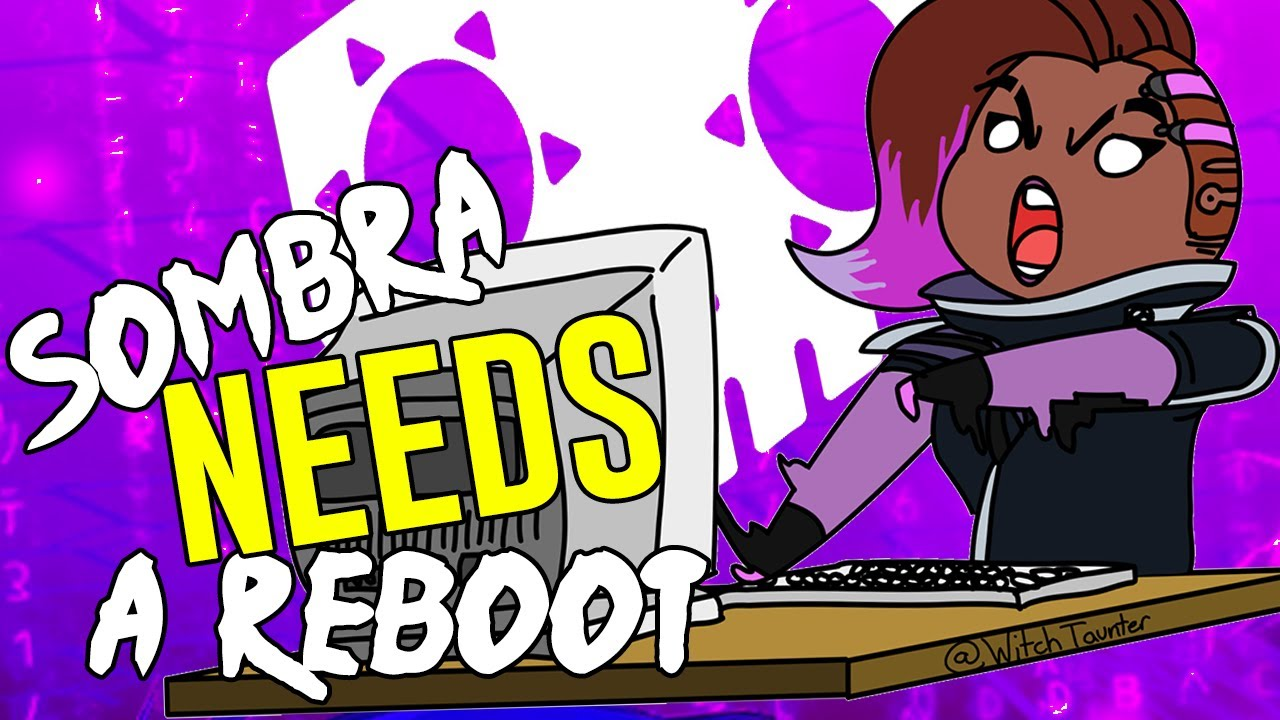 Glitch clipart red bug And Overwatch Overwatch IS Sombra