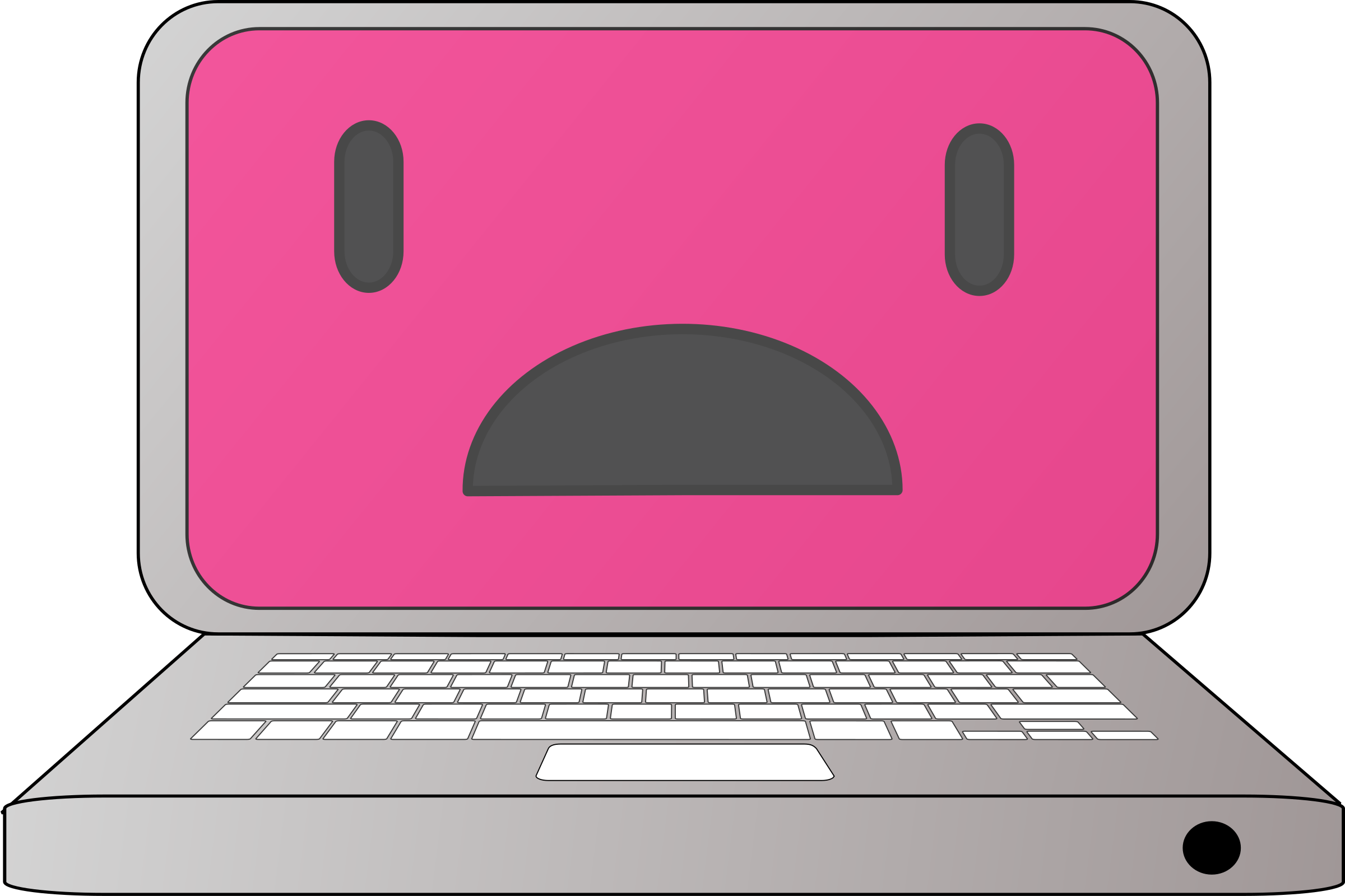 Square clipart sad Sad laptop Sad laptop Clipart