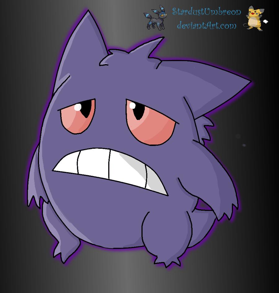 Glitch clipart sad Star Glitch Star Sad Gengar