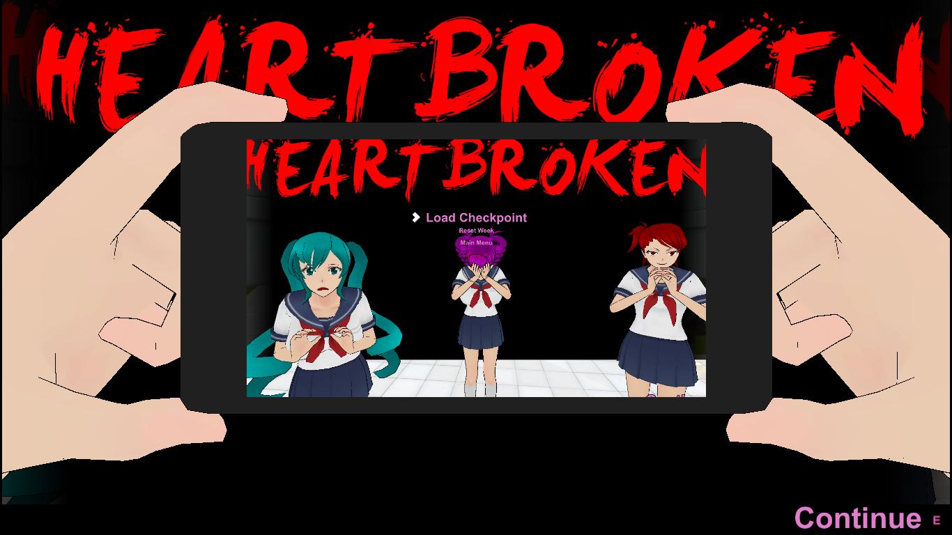 Glitch clipart scene Heartbroken Scene  xD Heartbroken