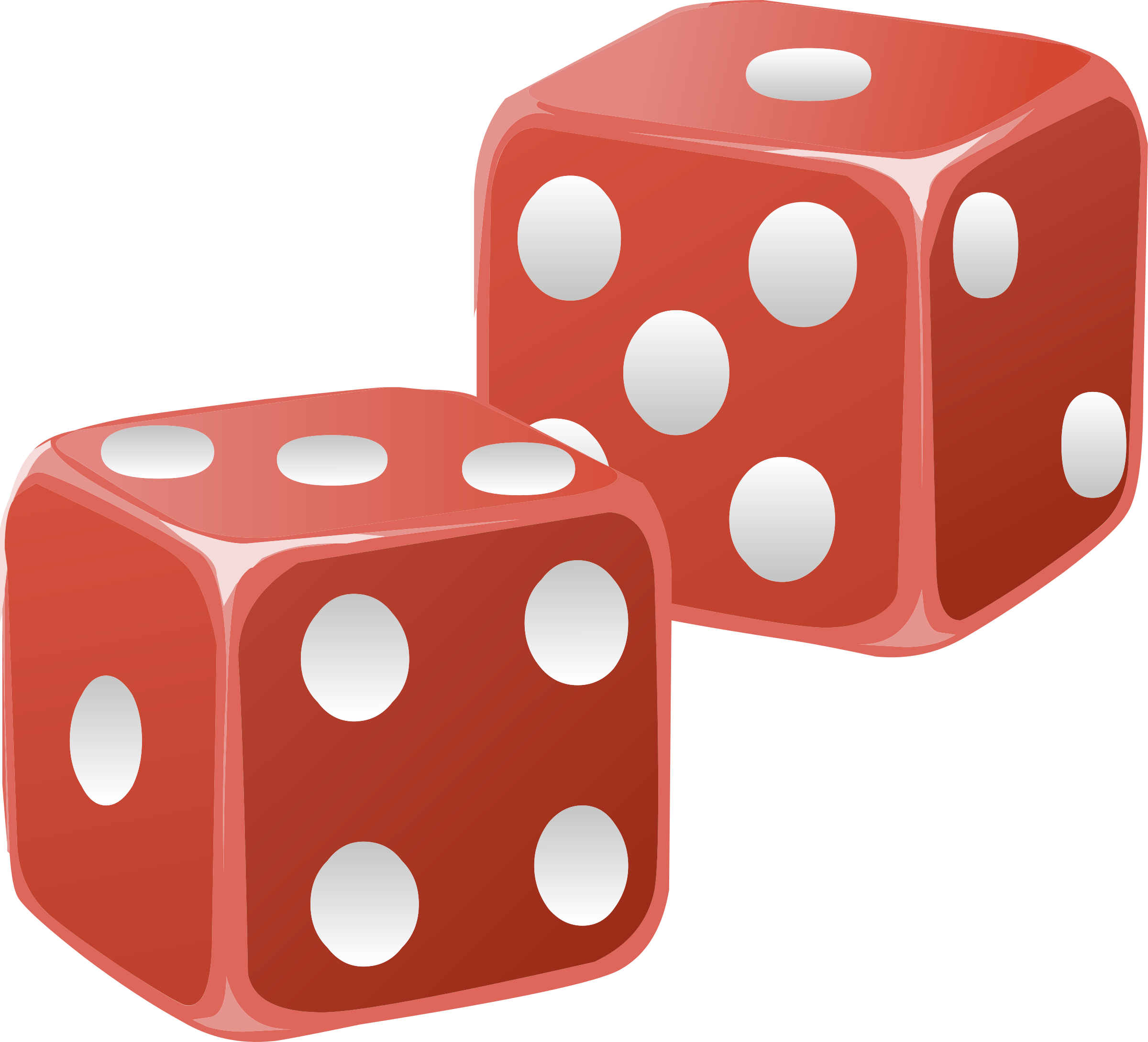 Dice clipart objects By Misc Dice 009 By