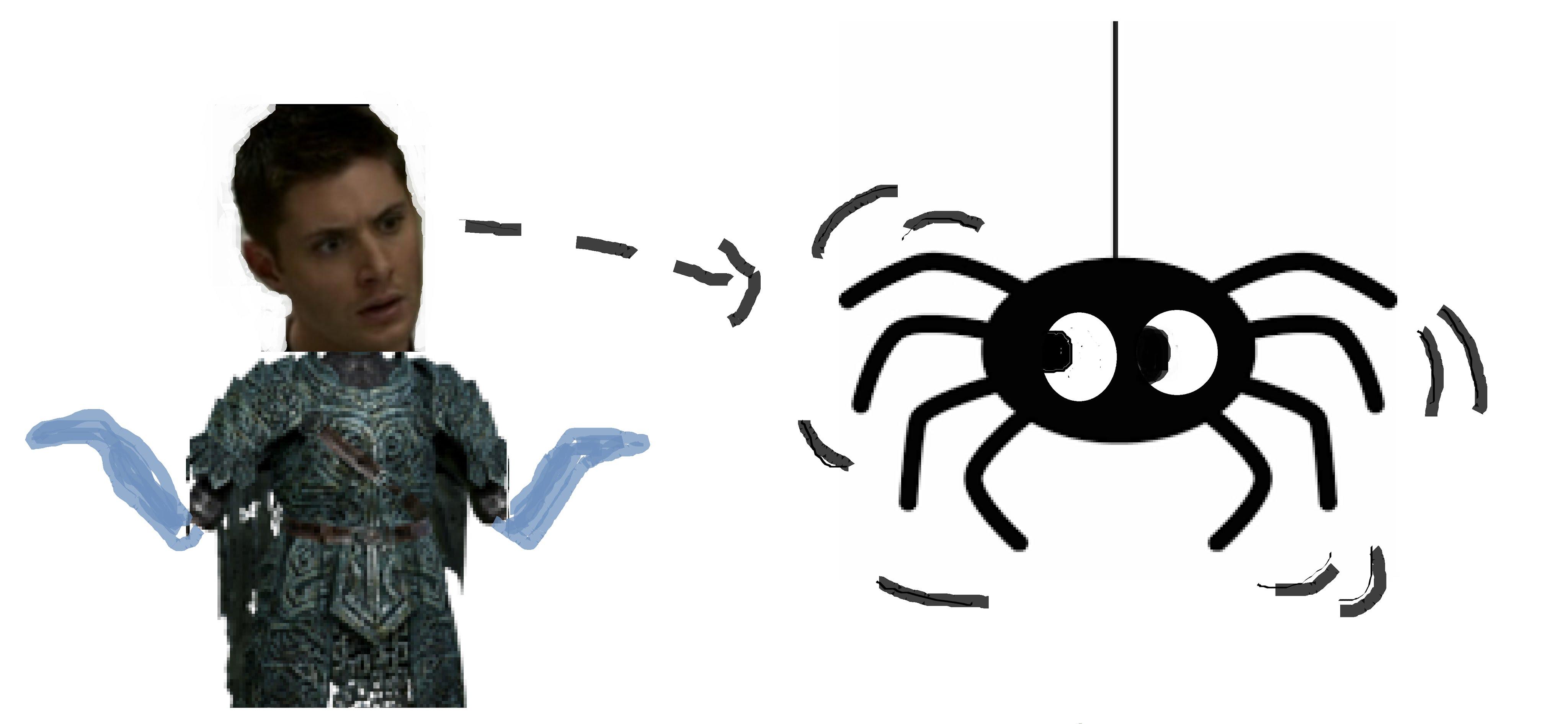 Glitch clipart spider #7