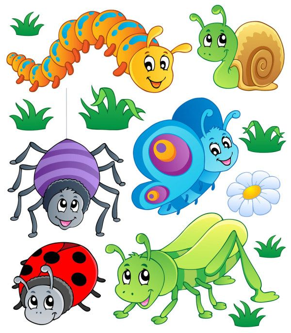 Bugs clipart funny Set 02 Funny format File