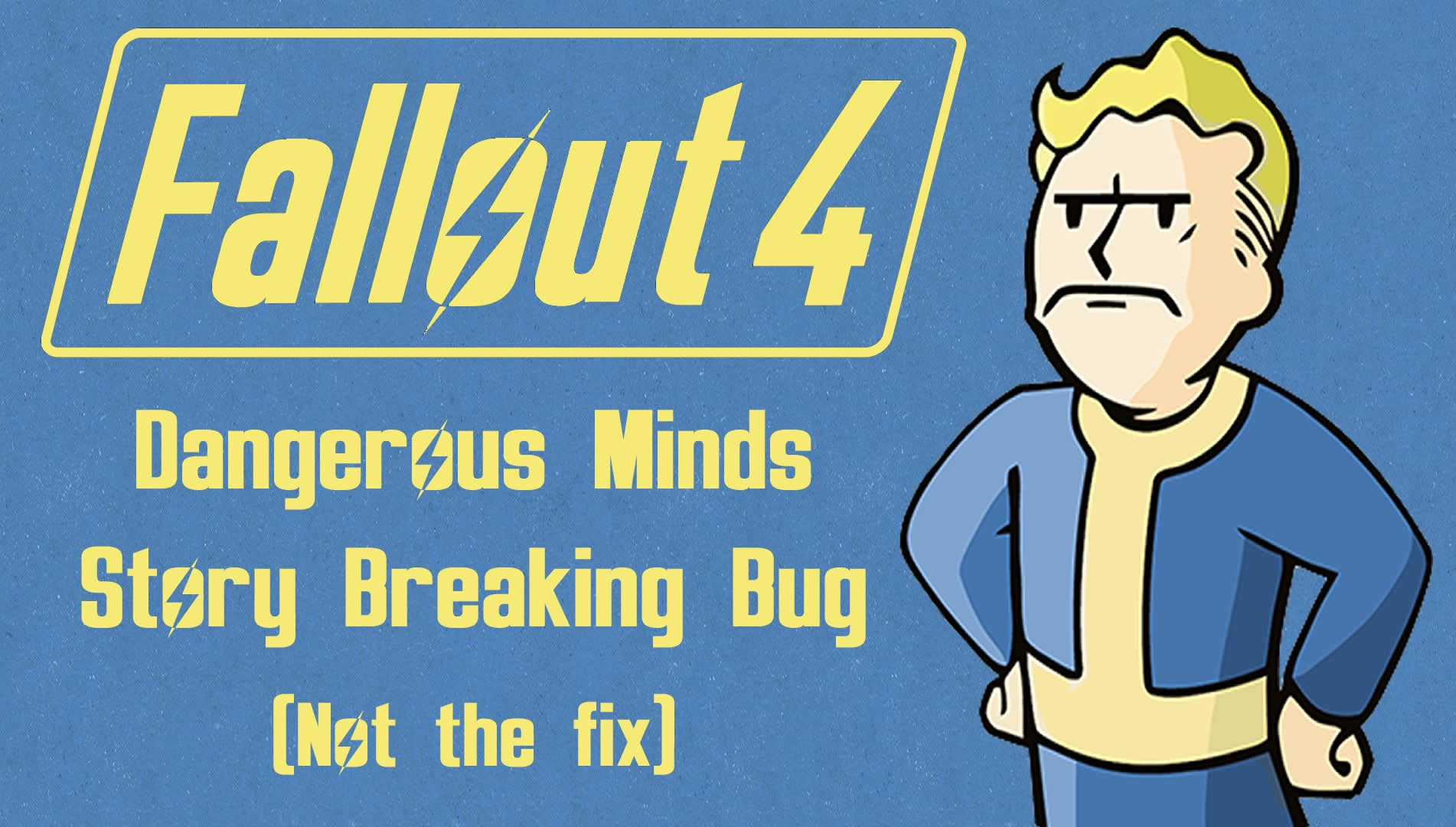 Glitch clipart trail Breaking Fallout YouTube Bug Story