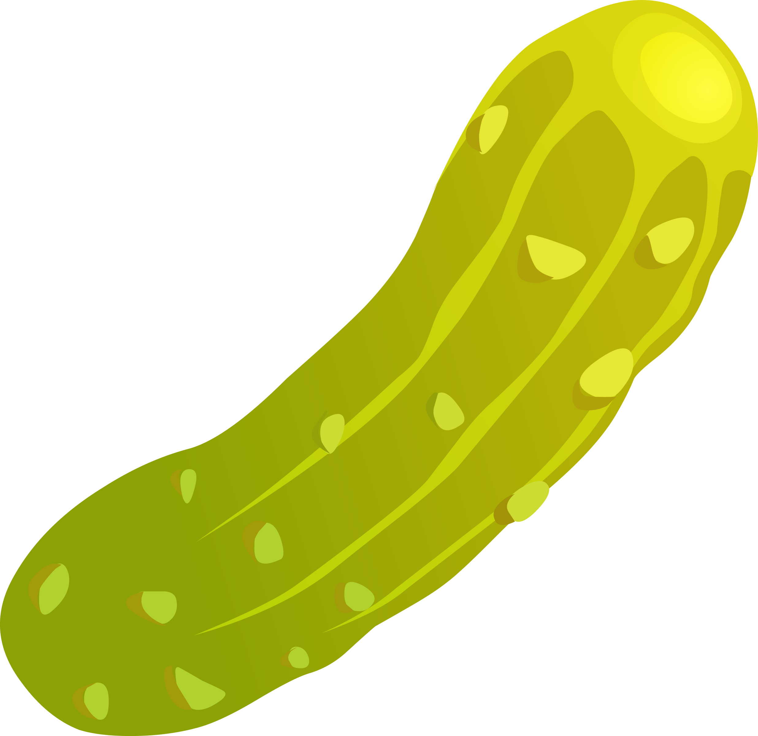 Glitch clipart transparent BIG Pickle (PNG) Food Clipart