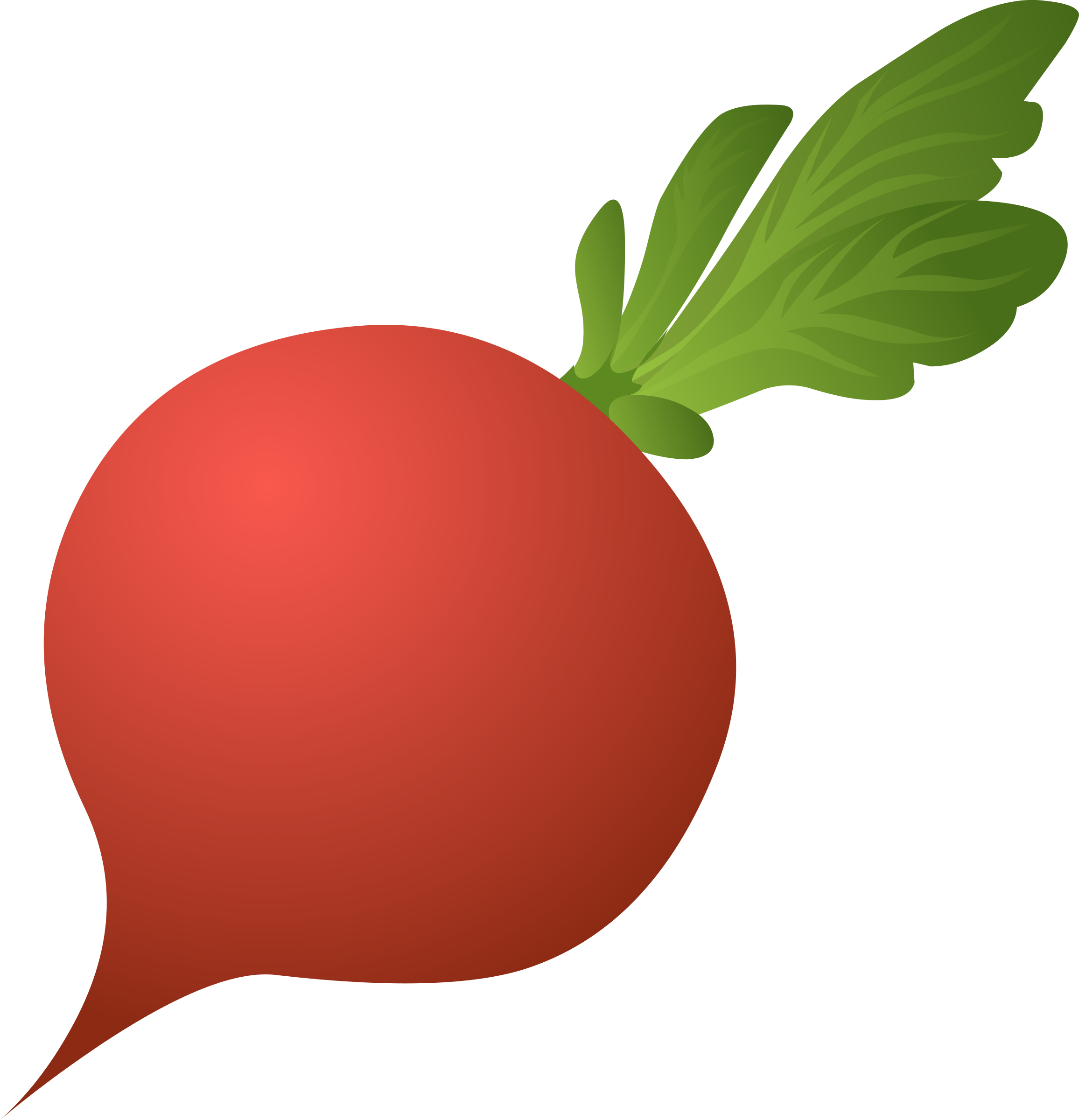 Glitch clipart transparent BIG Radish (PNG) Food Clipart