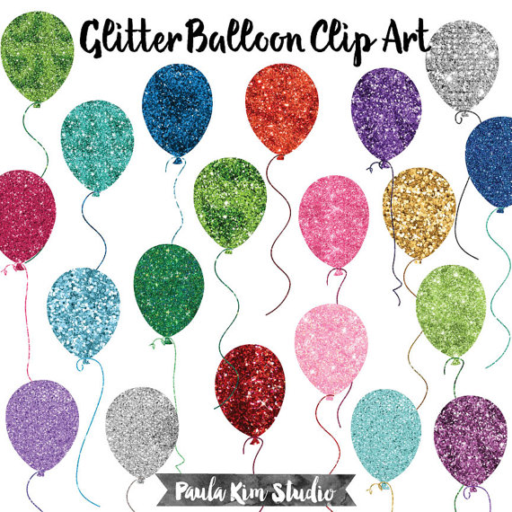 Glitter clipart Commercial Graphics Birthday Birthday Glitter