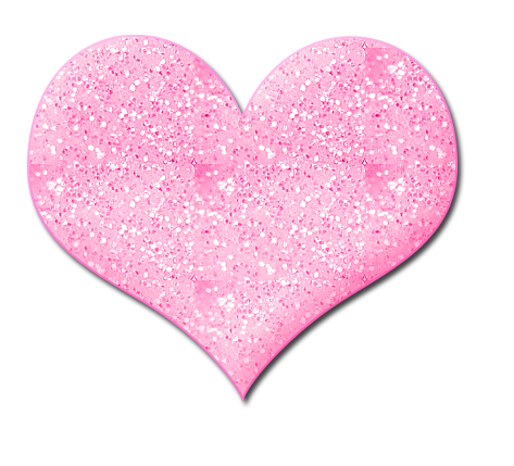 Hearts clipart pink sparkle Download Glitter Heart Clipart Heart