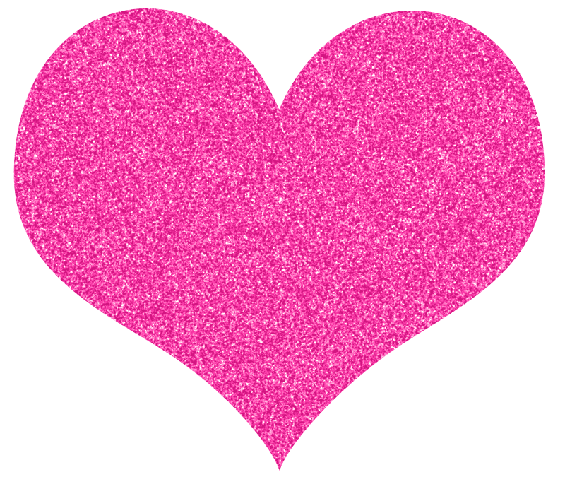 Hearts clipart pink heart Pink glitter Cookie Hearts glitter
