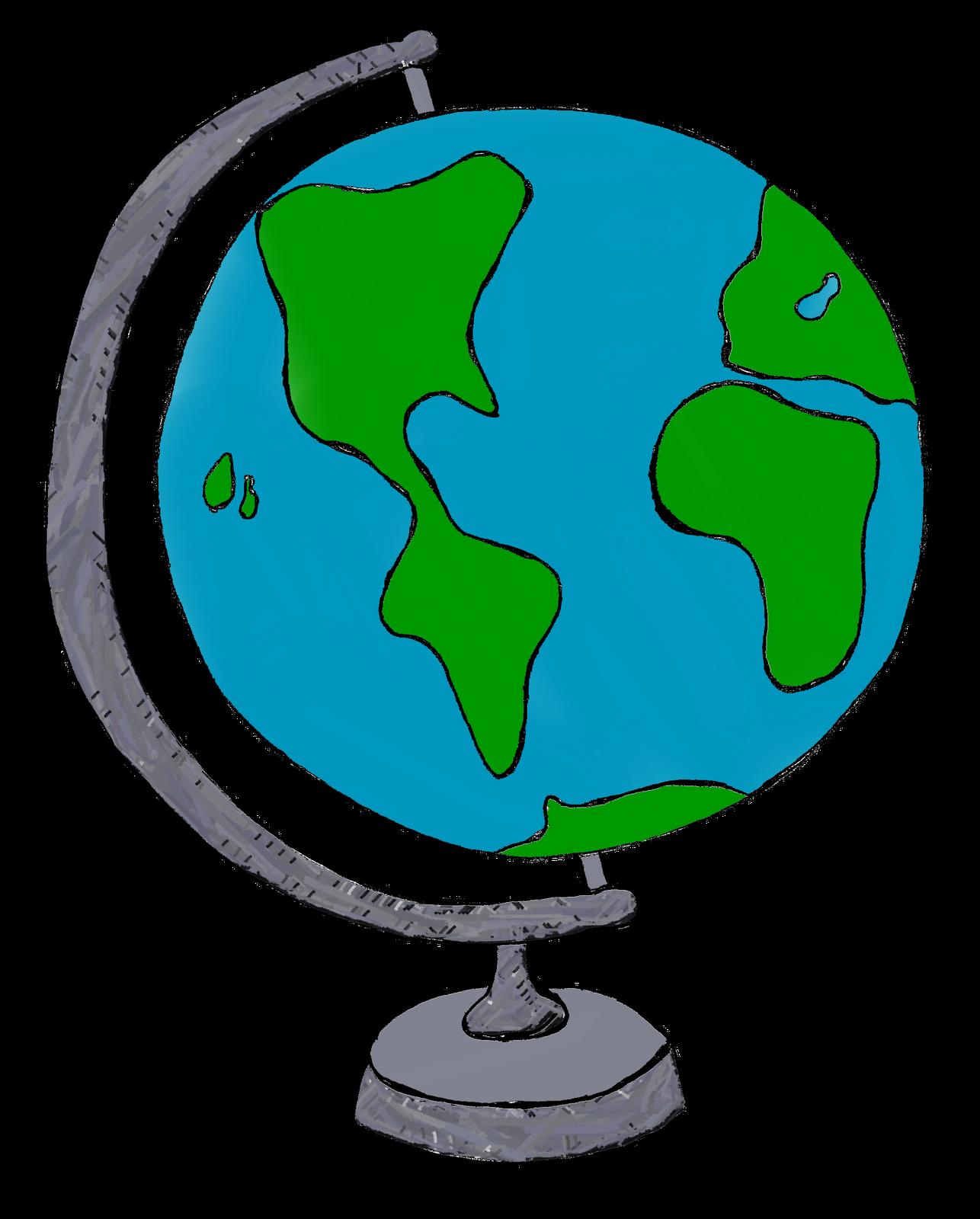 Globe clipart #5