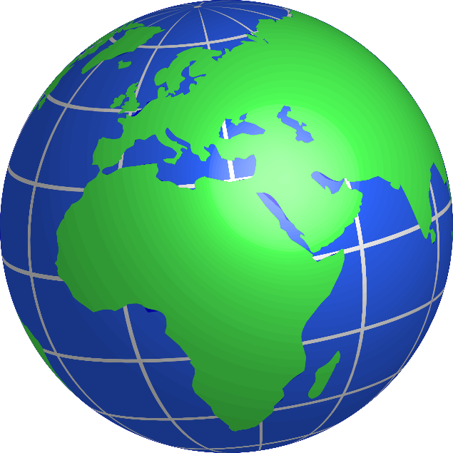 Globe clipart #2