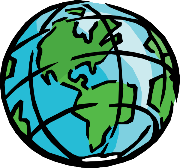 Moving clipart earth #3