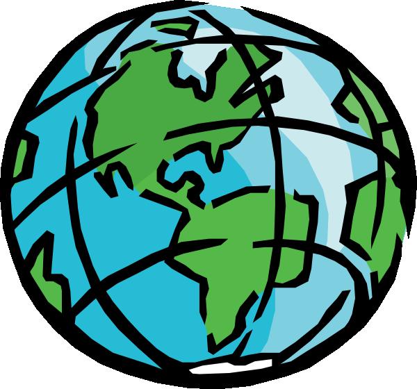 Globe clipart #3