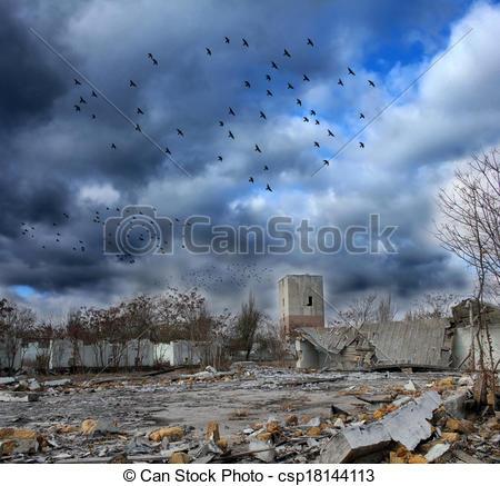 Gloomy clipart apocalypse Gloomy Clipart of apocalypse apocalypse