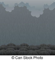 Gloomy clipart apocalypse  illustration of weather