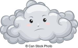 Clouds clipart sad Cloud Art illustration Dark 262