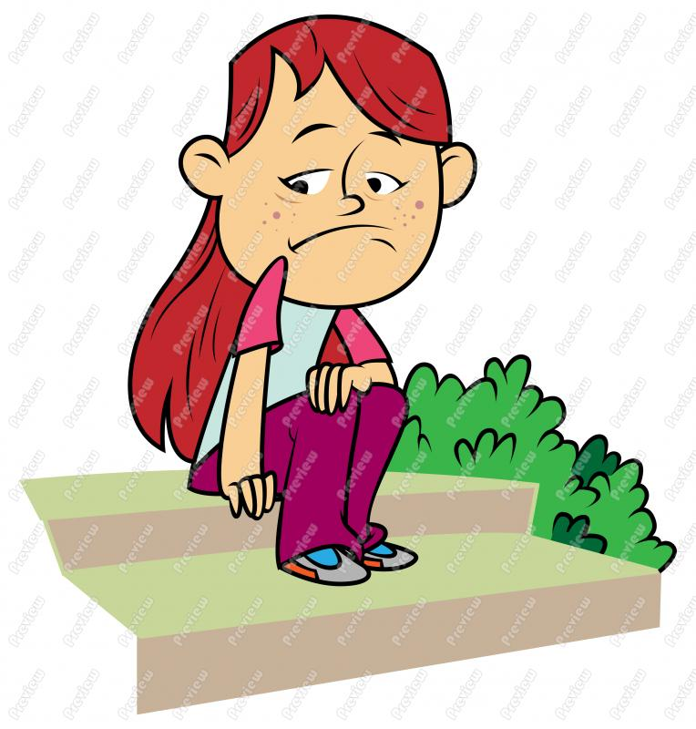 Gloomy clipart disappointed kid Cartoon To  That Thought
